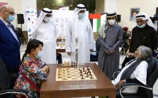 الصورة: «الشارقة للشطرنج» يقترح منح تسهيلات إلى الشركات الداعمة للعبة