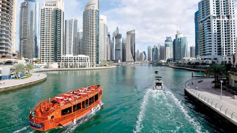 العقارات في دبي وصلت إلى مستويات مغرية جداً للشراء.   أرشيفية