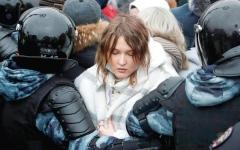 الصورة: الشرطة الروسية تحتجز 3000 من أنصار نافالني