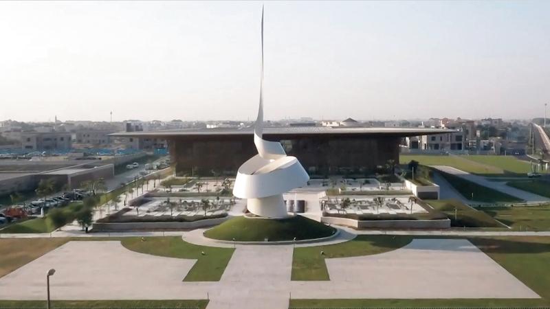 «بيت الحكمة» إضافة بارزة للحركة الثقافية في الإمارات والعالم العربي.  أرشيفية