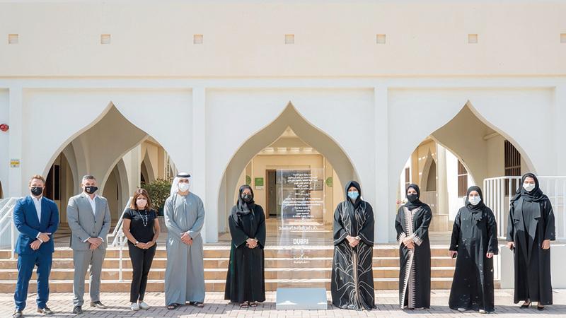 لطيفة بنت محمد أطلقت المدرسة بالتعاون مع «دبي القابضة» لترجمة أفكار المبدعين إلى إنجازات وأعمال ناجحة.  وام
