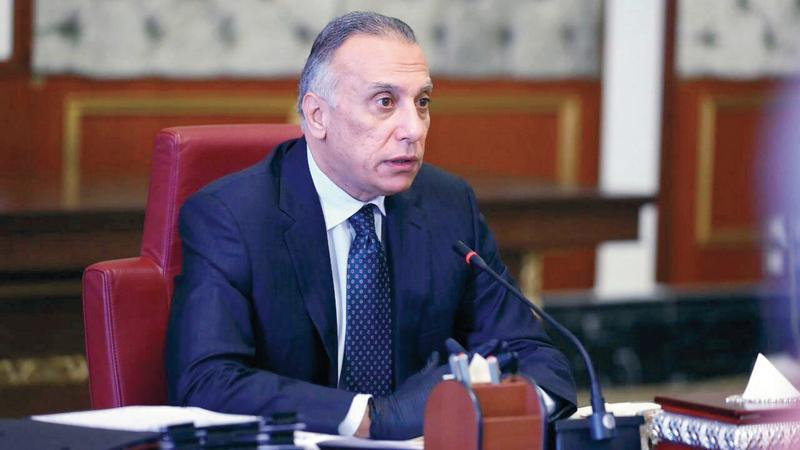 الكاظمي أول رئيس حكومة عراقي غير إسلامي منذ 2005. أرشيفية