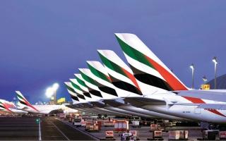 «طيران الإمارات» تشغّل 476 ألف مقعد على رحلاتها الأسبوع الجاري