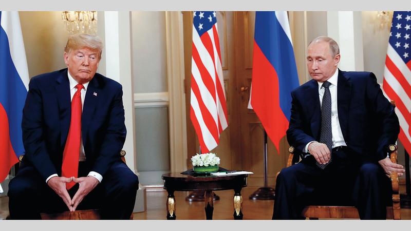 صداقة أم مصلحة جمعت بين ترامب وبوتين؟ ■ رويترز