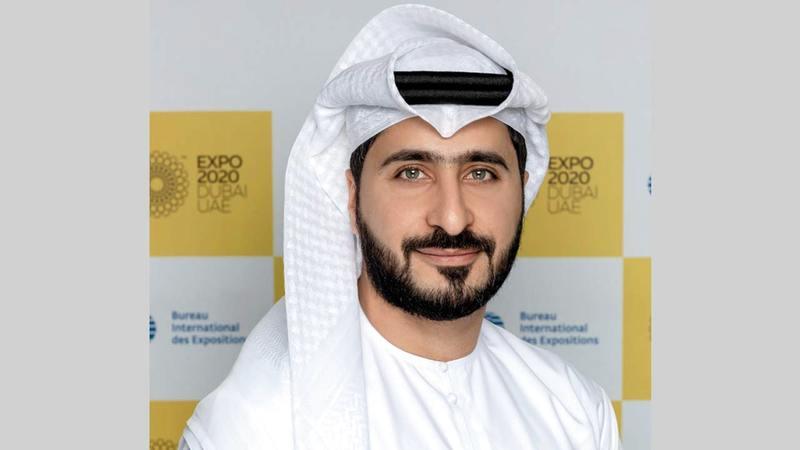 محمد الأنصاري: «أكثر من 200 جهة مشاركة في (إكسبو دبي)، بينها دول ومنظمات متعدّدة الأطراف ومؤسسات تعليمية وشركات».