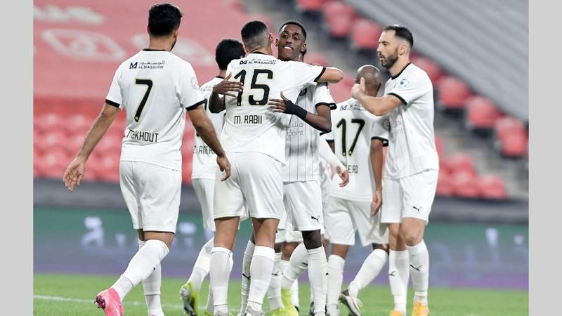 الجزيرة عوّض الخسارة المفاجئة من خورفكان بفوز كبير على النصر أول من أمس.   من المصدر