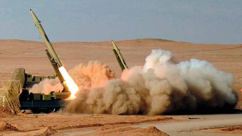الصواريخ الباليستية موضوع أي تفاهم جديد بين إدارة بايدن وإيران.  أرشيفية