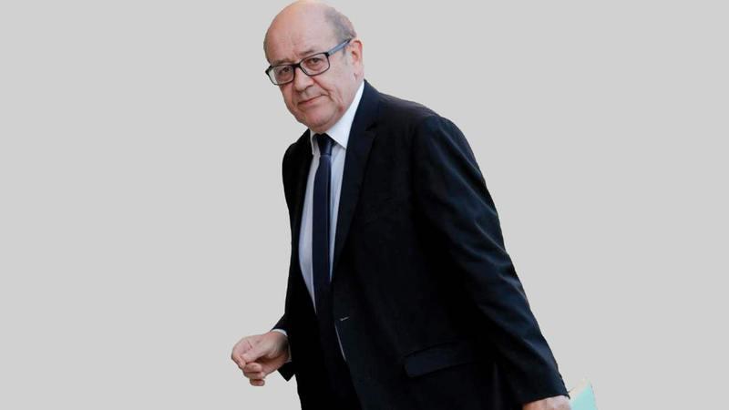 وزير الخارجية الفرنسي يزيد الضغوط على طهران.  أرشيفية