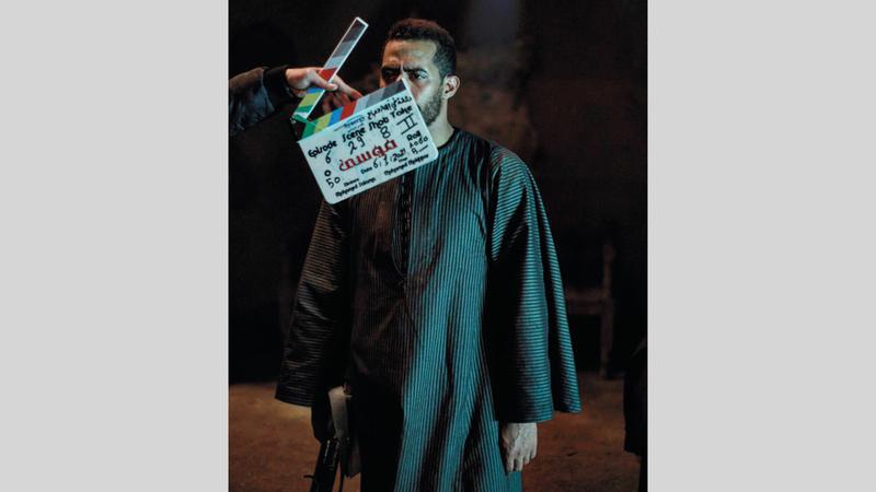 «موسى» للممثل محمد رمضان يصور في مناطق مختلفة وبميزانية إنتاجية كبيرة.أرشيفية