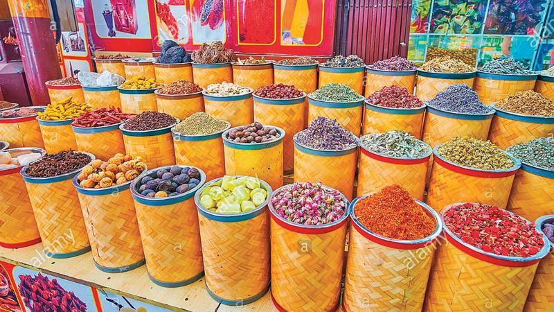 توجد في الإمارات أنواع كثيرة من الأدوية الشعبية العشبية أو النباتية. أرشيفية