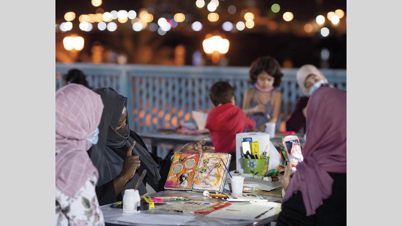 المبادرة تهدف إلى إطلاق مواهب المشاركين الإبداعية.  من المصدر