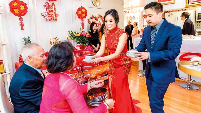عائلات صينية تفضّل هذا النوع من الزواج للحفاظ على بناتها.   أرشيفية