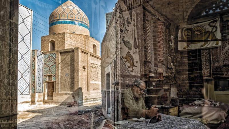 صورة أمير غادري.   من المصدر