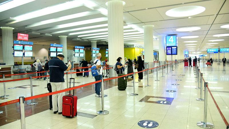 الطلب على السفر الدولي انخفض بنسبة 76% في 2020 مقارنة مع 2019.   أرشيفية