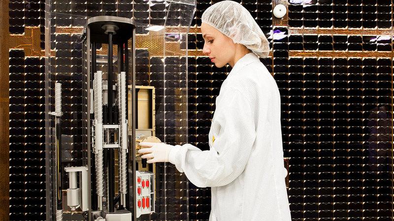 الشركة الإيطالية صممت آلة حفر فضائية لصالح مهمة «إكسو مارس 2022».  من المصدر