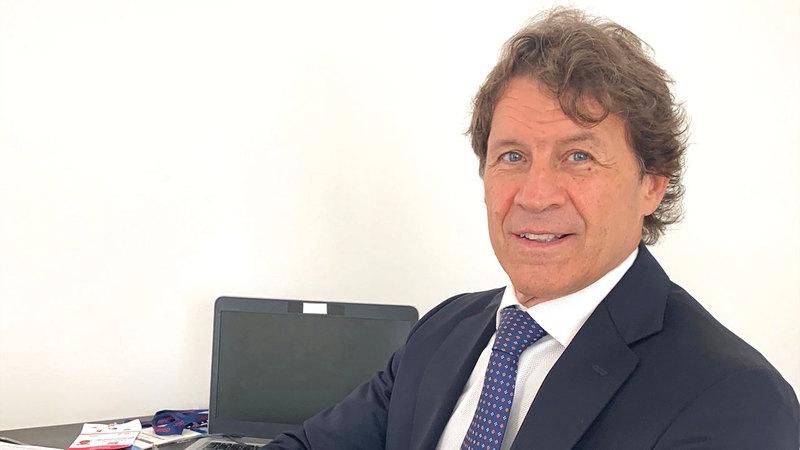 دوميسيانو بوسكي:  «(الشركة) تسعى  إلى توسيع وتعزيز  تجربة الشباب الذين  يزورون (المعرض)،  لأغراض تعليمية».