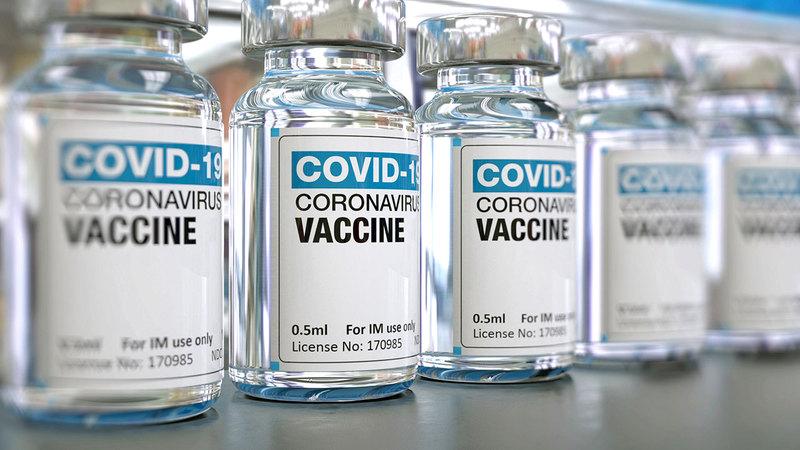 الوزارة قدمت 158 ألفاً و786 جرعة من اللقاح خلال الـ24 ساعة الماضية. الإمارات اليوم