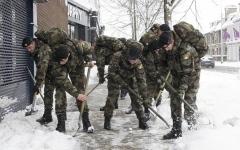 الصورة: قوات الدفاع الاحتياطية في أيرلندا مهددة بالاختفاء