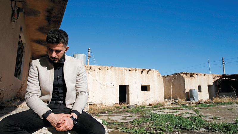 تيكران كاميران يوسف: كانت أشد اللحظات ألماً حينما فصلوني عن والدي.  رويترز