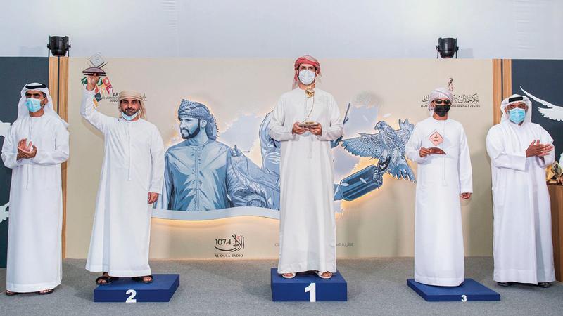 خلال تتويج الفائزين في «العامة مفتوح».