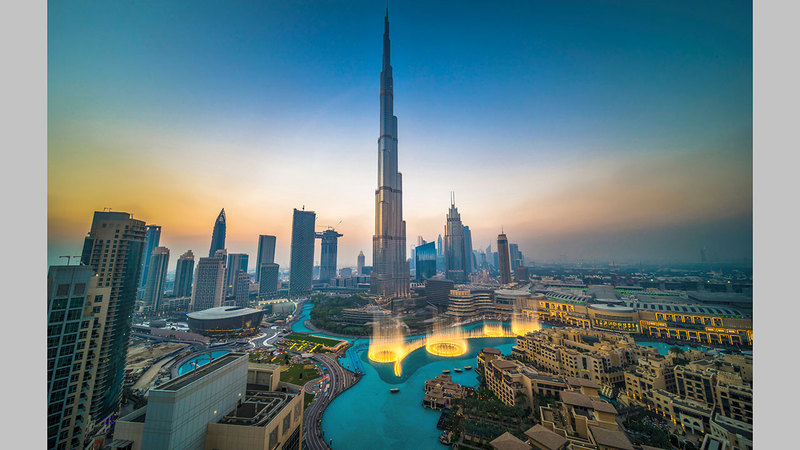 اقتصاد دبي يتمتع بمستويات عالية من المرونة والقدرة على مواجهة التحديات. أرشيفية