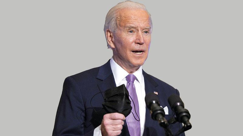 كان بايدن قبل تسلمه الرئاسة المسؤول الكبير الوحيد الذي عارض باستمرار إرسال مزيد من الجنود إلى أفغانستان.  أ.ب