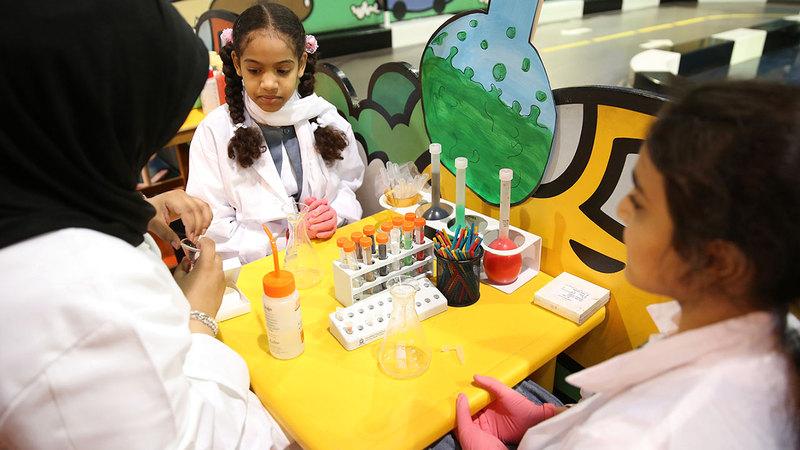 هيئة الشارقة للمتاحف: نحرص على إذكاء روح الابتكار لدى الزوار لاسيما الأطفال.            من المصدر