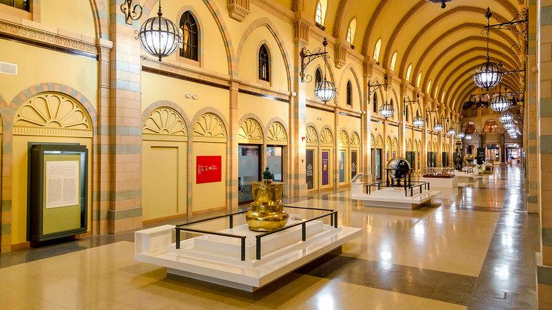 متحف الحضارة الإسلامية يسلط الضوء على إنجازات العديد من العلماء المسلمين.   أرشيفية
