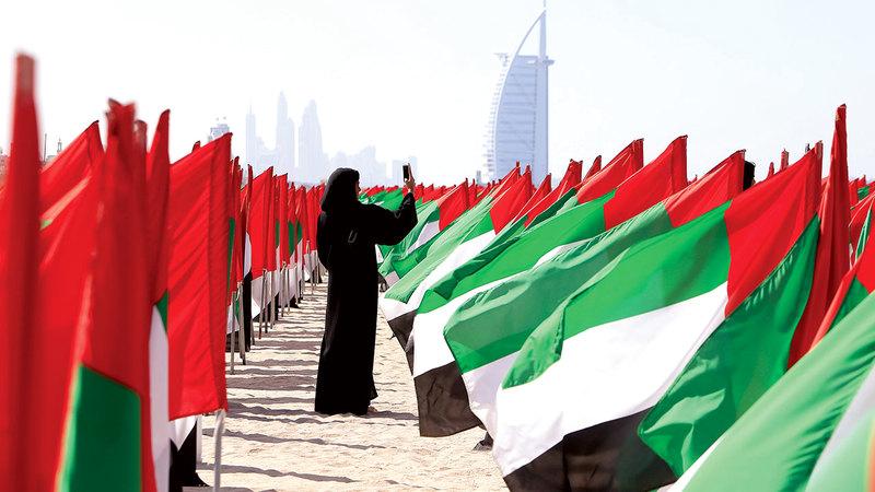 المرأة الإماراتية شريك في التنمية بكل المجالات.   أرشيفية