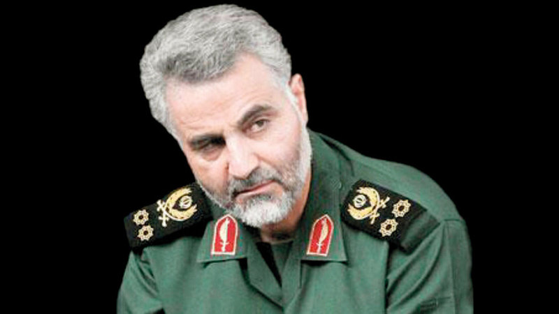 أميركا اغتالت قائد فيلق القدس بالحرس الثوري الإيراني ما خلق مزيداً من التوتر بين طهران وواشنطن.   غيتي