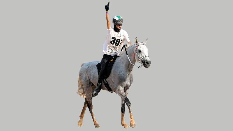 الفارس عبدالله العامري.   من المصدر