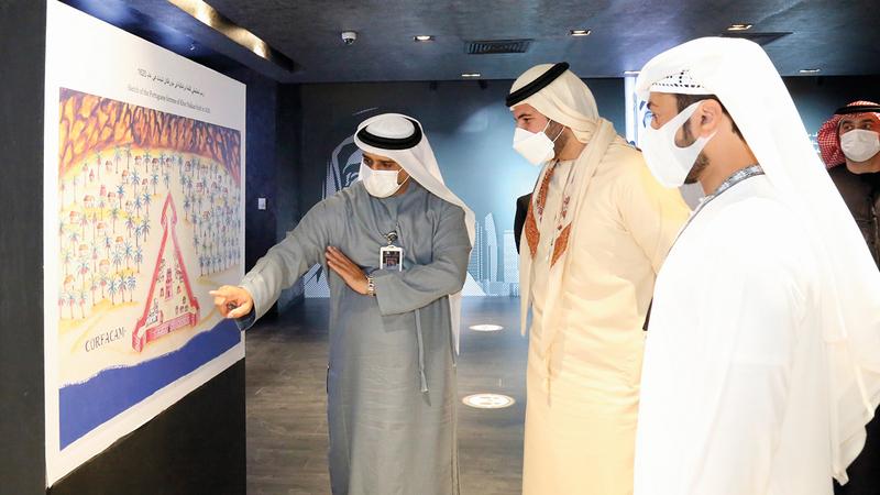 المنصة تعرض وثائق مهمة للباحثين والمهتمين بتاريخ دولة الإمارات.    من المصدر