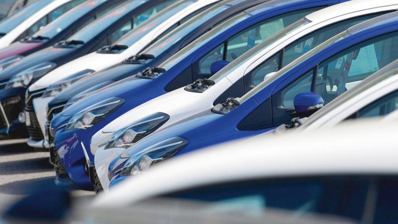 تنوع طرز السيارات الموجودة في السوق يلبي احتياجات ومتطلبات المستهلكين. أرشيفية