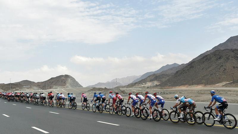 أبرز فرق ونجوم العالم يشاركون في طواف الإمارات.  من المصدر