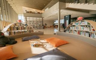"""الصورة: بالصور: """"بيت الحكمة"""".. نموذج فريد لمكتبات المستقبل"""
