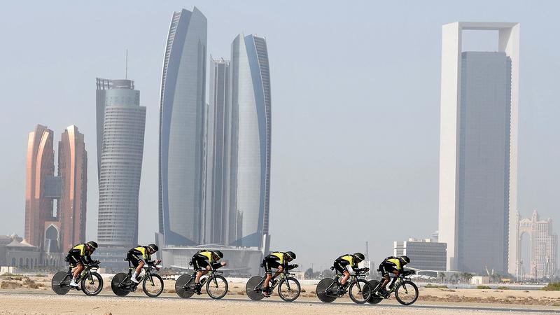 طواف الإمارات يقام خلال الفترة من 21 إلى 27 الجاري.   من المصدر