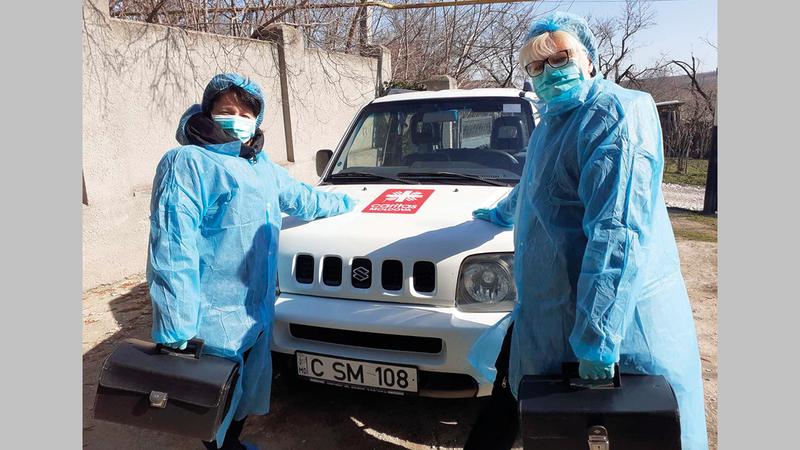 المنظومة الصحية في مولدوفا مُنهكة للغاية.   أرشيفية