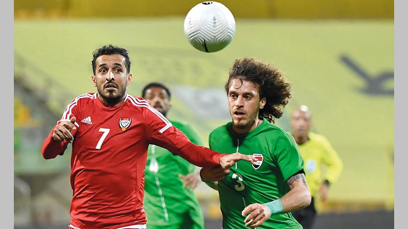 المنتخب خاض مباراة ودية واحدة فقط أمام العراق في فترة مارفيك الثانية.    تصوير: أسامة أبوغانم