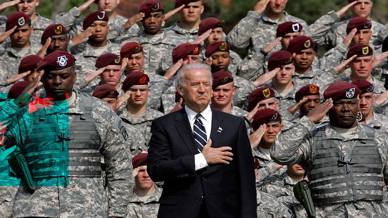 جو بايدن هو القائد الأعلى للقوات المسلحة في أميركا بصفته رئيس الدولة.  أرشيفية