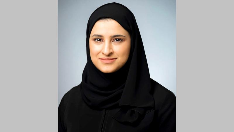وزير دولة للتكنولوجيا المتقدمة سارة الأميري.  وام