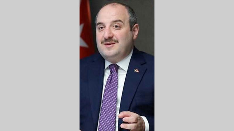 وزير الصناعة التركي مصطفى وارانك.  أرشيفية