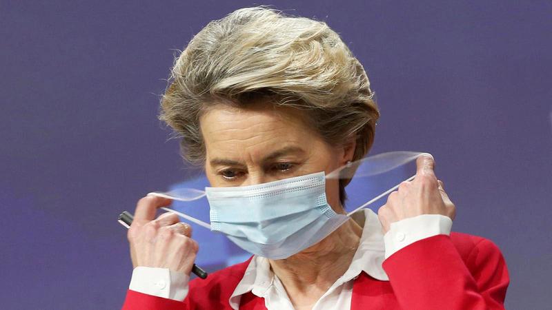 أورسولا فون قالت إن الاتحاد الأوروبي سيتلقى نحو 100 مليون جرعة لقاح خلال الأشهر الثلاثة الأولى من العام الجاري.  أرشيفية