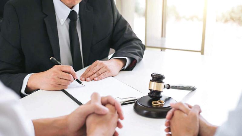 بعض حالات طلاق كبار السن تقع بسبب سوء تصرف الزوجة. أرشيفية