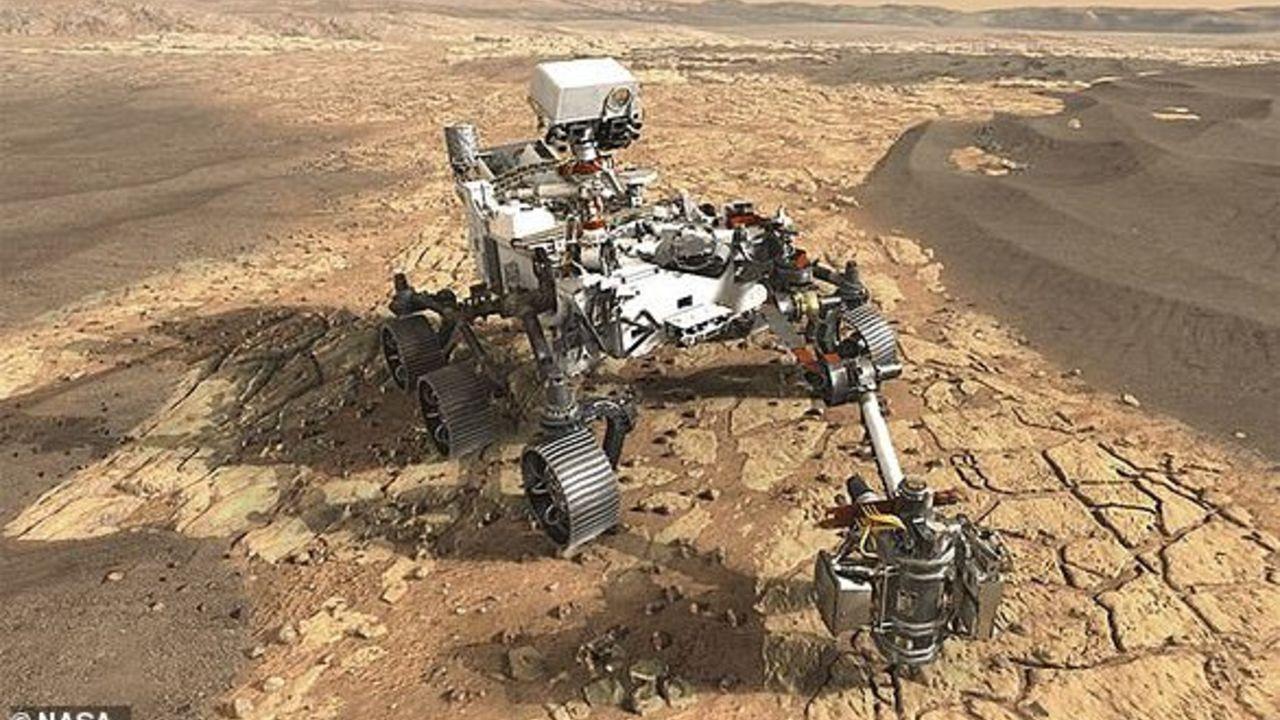 نشرت وكالة الفضاء الأميركية صورا للعربة المريخية التابعة لها والمتواجدة حاليا على كوكب المريخ، وتظهر أنها آمنة وفي حالة جيدة.