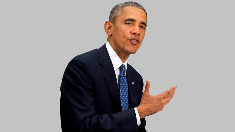أوباما رسم خطاً أحمر للنظام السوري لكنه لم يفعل شيئاً.   أرشيفية