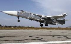 الصورة: مقتل 21 عنصراً من «داعش» بضربات جوية روسية  في سورية