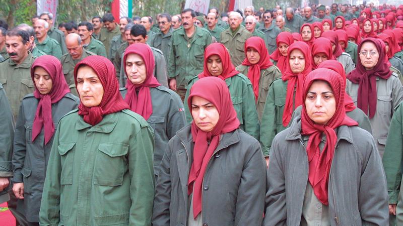 «مجاهدي خلق» روّجت أيضاً لخطاب أن إيران على وشك الانهيار وهي تناشد الأميركيين ممارسة ضغوط على طهران.    أرشيفية