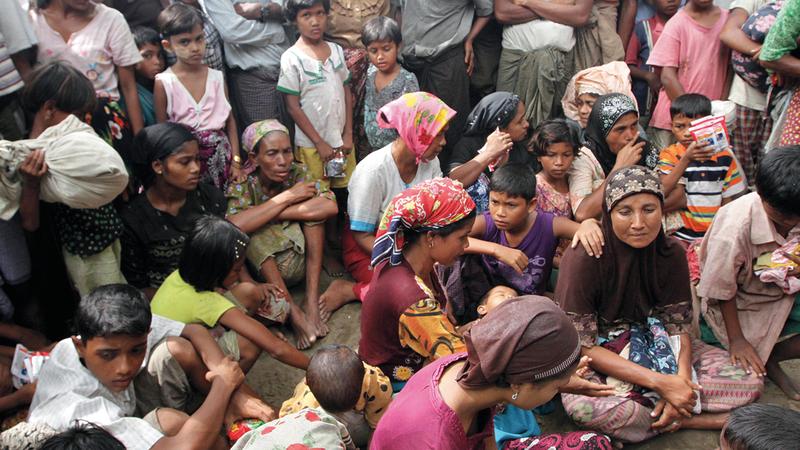 الروهينغا في مخيمات اللجوء يشعرون بالرعب من الانقلاب في ميانمار.  أرشيفية