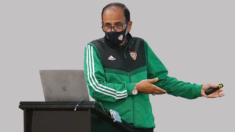 مدير إدارة الحكام في الاتحاد: علي الطريفي.