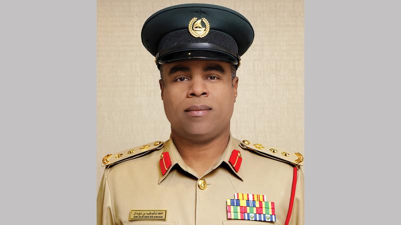 جمعة بن سويدان: «شرطة دبي أعدت خطة متكاملة لتأمين مرحلة دبي في الطواف، انطلاقاً من نخلة ديرة إلى نخلة جميرا».